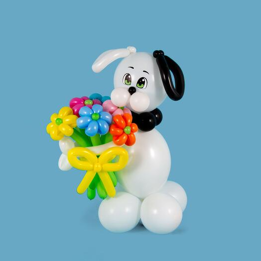 "Фигура из шаров ""Собака Бим"""