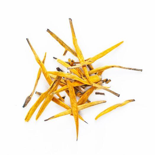 """Чёрный (китайский красный) чай """"Да Цзинь Чжень (Золотые иглы)"""" (большие золотые иглы) 250 гр"""