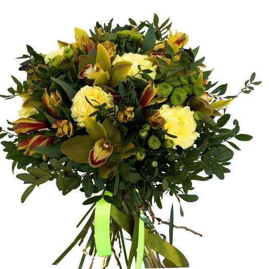 Грин тич: букеты цветов на заказ Flowwow