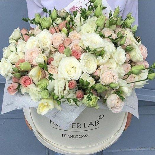 Шелковая нега: букеты цветов на заказ Flowwow