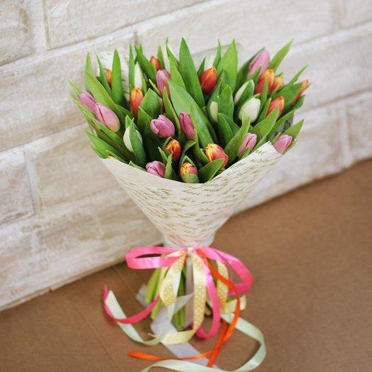Весенняя серенада: букеты цветов на заказ Flowwow