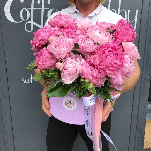 Пиономания: букеты цветов на заказ Flowwow