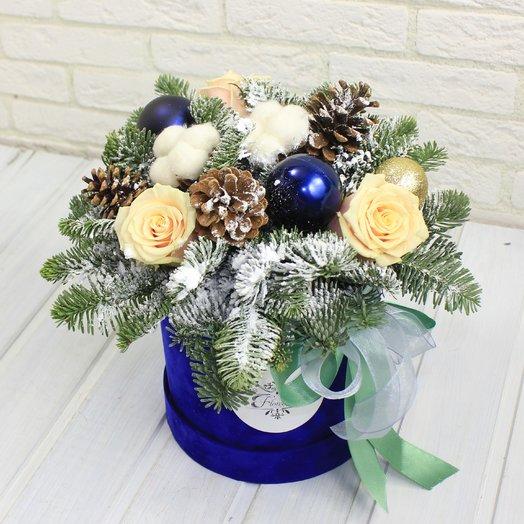 Счастливое рождество: букеты цветов на заказ Flowwow