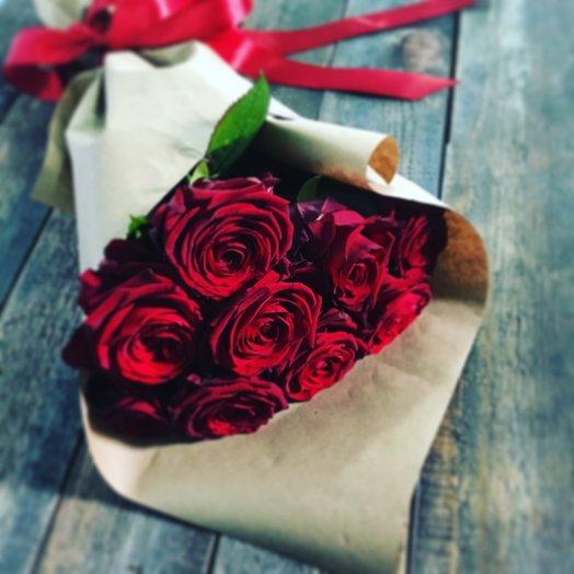 Букет из красных роз : букеты цветов на заказ Flowwow