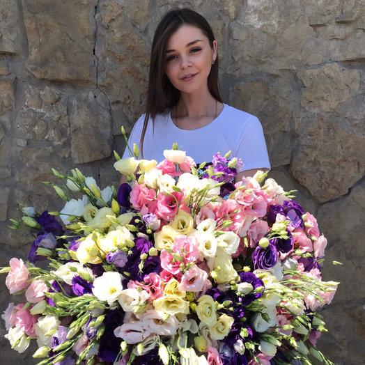 Эустома: букеты цветов на заказ Flowwow