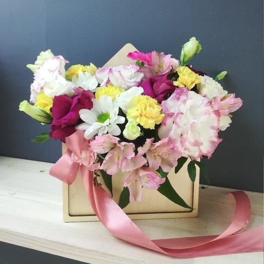 Цветочное письмо 2: букеты цветов на заказ Flowwow