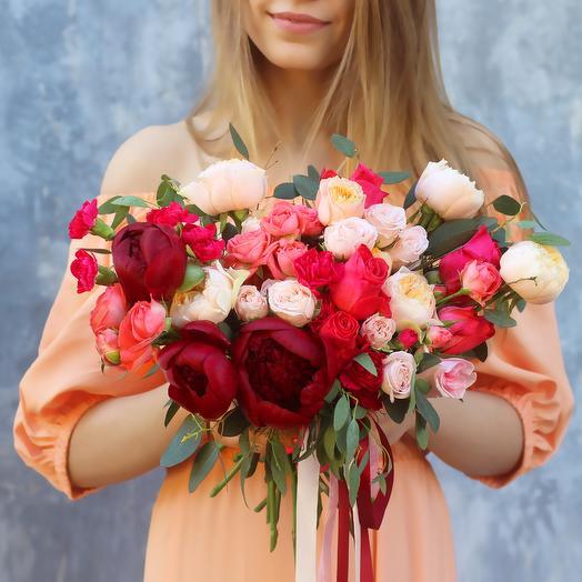 Букет невесты 03: букеты цветов на заказ Flowwow