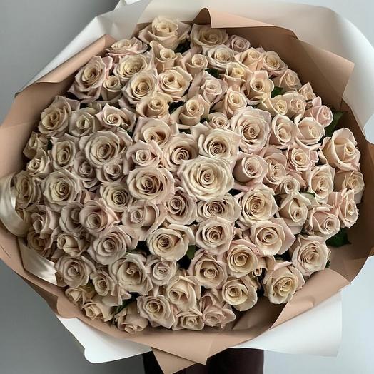 Фарфоровая Роза Мента: букеты цветов на заказ Flowwow