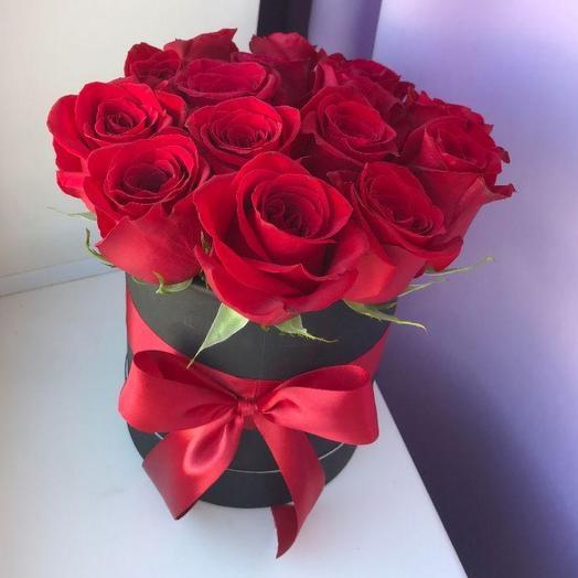 15 роз в коробке: букеты цветов на заказ Flowwow