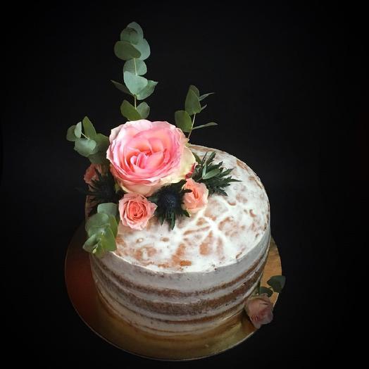 Торт с цветами: букеты цветов на заказ Flowwow