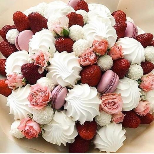 Сладкий букет «Эйфория»: букеты цветов на заказ Flowwow