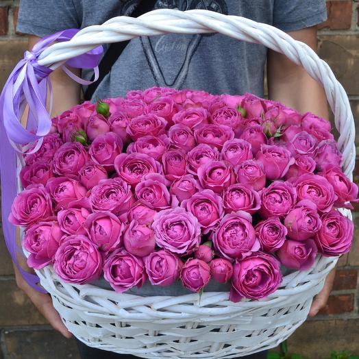 Малиновый сад: букеты цветов на заказ Flowwow