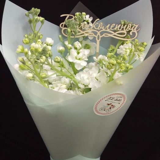 Белая магия: букеты цветов на заказ Flowwow