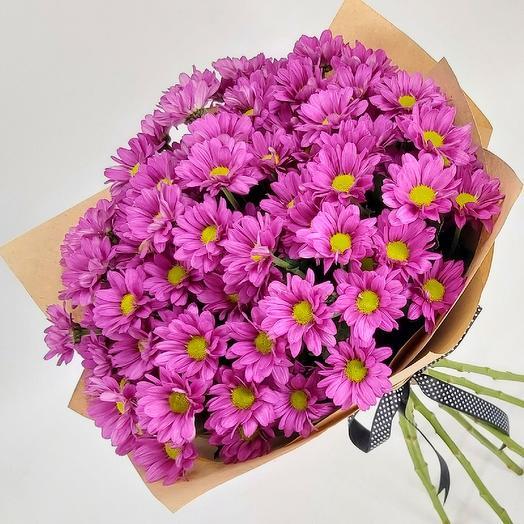 Фиолетовые ромашки 9