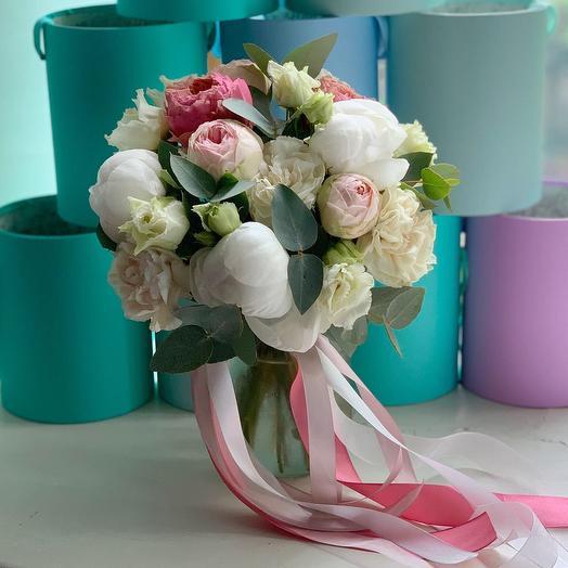 "Букет невесты ""Ажурный"": букеты цветов на заказ Flowwow"