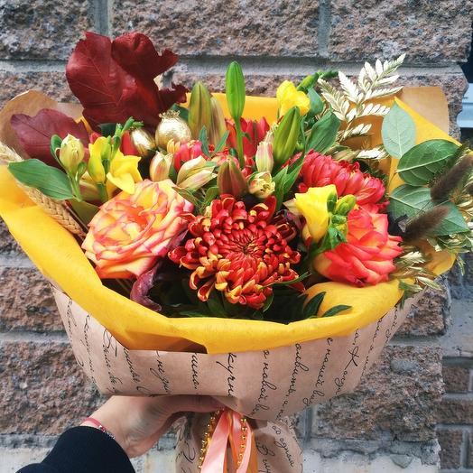 Золотой: букеты цветов на заказ Flowwow