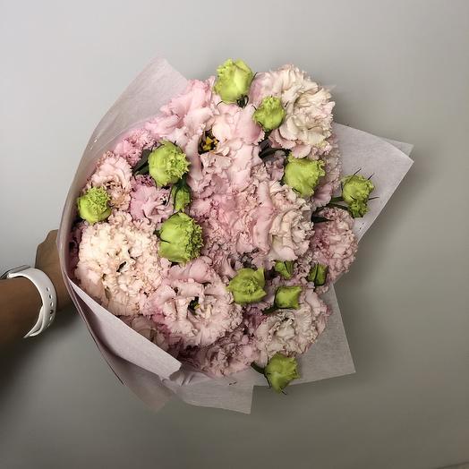 Букет эустомы: букеты цветов на заказ Flowwow