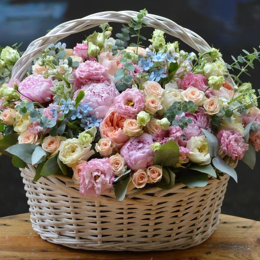 "Корзина ""Мой сон"": букеты цветов на заказ Flowwow"