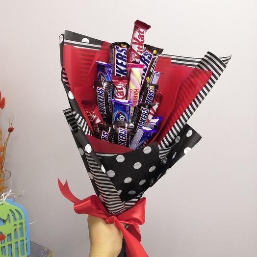 Сладкий букет: букеты цветов на заказ Flowwow
