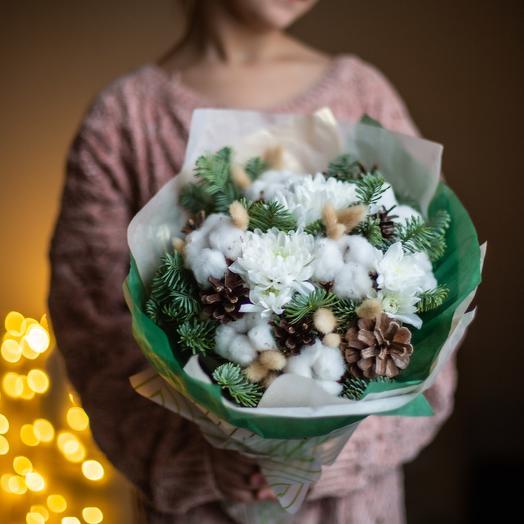 Зимние настроение: букеты цветов на заказ Flowwow