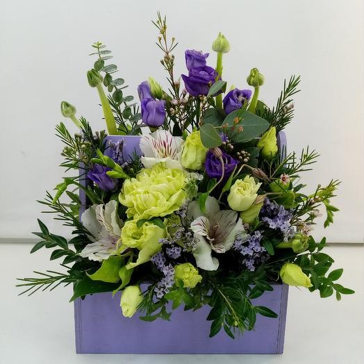 Сиреневый туман: букеты цветов на заказ Flowwow