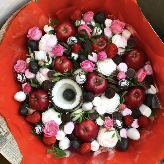 Фруктовый букет «огонь»: букеты цветов на заказ Flowwow