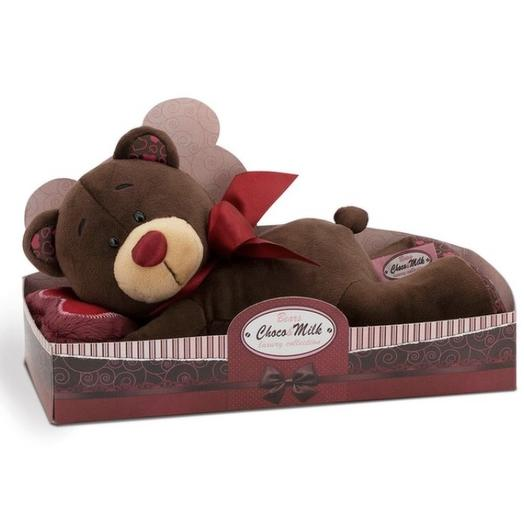 Мягкая игрушка «Choco лежебока»: букеты цветов на заказ Flowwow