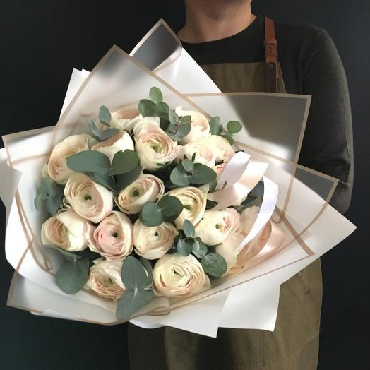 25 ранункулюсов: букеты цветов на заказ Flowwow