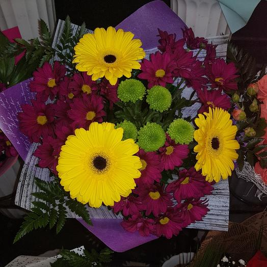 Черничный пунш: букеты цветов на заказ Flowwow
