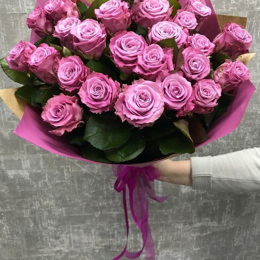 Роза маритим 50 см,  25 шт в крафте