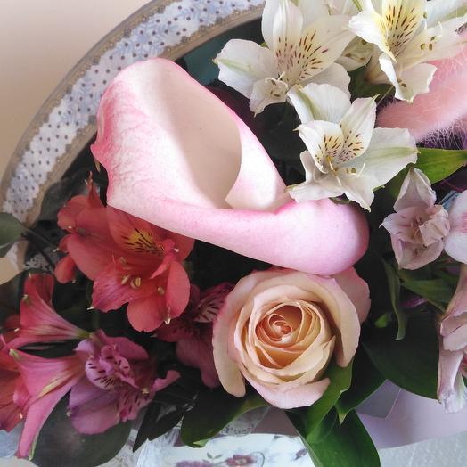 Гейша: букеты цветов на заказ Flowwow