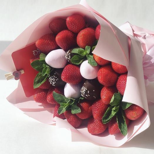 Букетик клубники: букеты цветов на заказ Flowwow