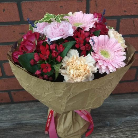 Букет «Виктория»: букеты цветов на заказ Flowwow
