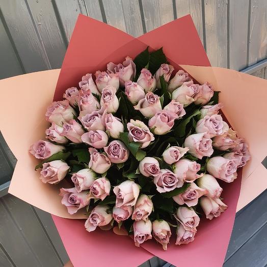 51 роза сиреневая
