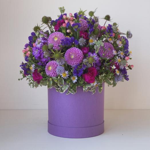 Коробка с цветами Luxury Flowers Мечты о Провансе
