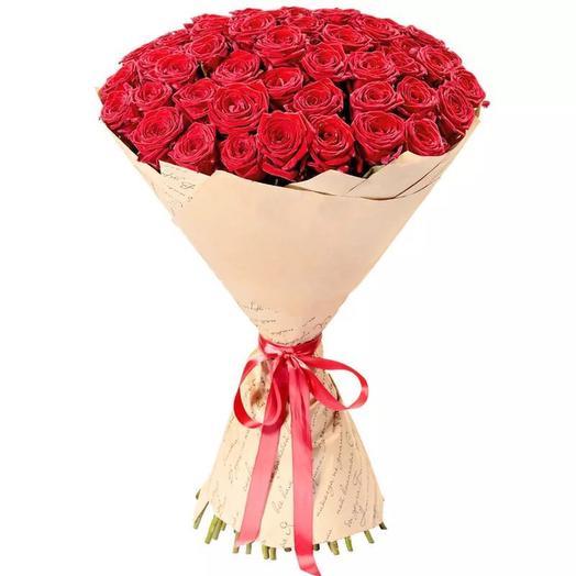 51 бархатная Роза 80 см