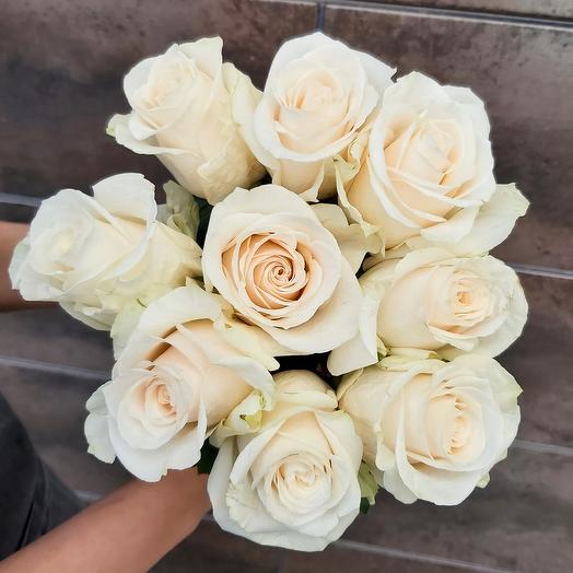 Монобукет Vendela роза одноголовая 50 см — 9 шт под ленту