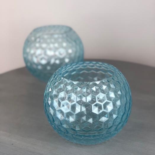 Стеклянные вазочки