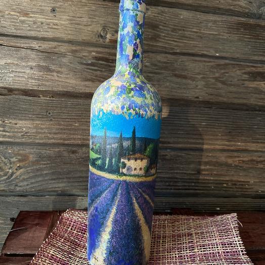 Декоративная бутылка «Лавандовое счастье вдвойне»