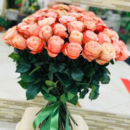 Сортовая Пионовидная Роза «Кахала» Эквадор
