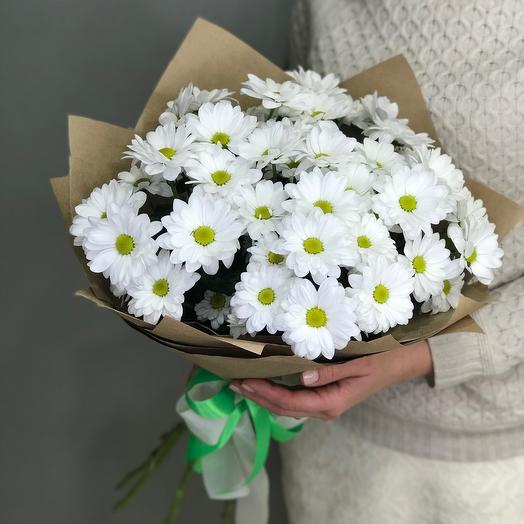 bouquet of 7 chrysanthemums