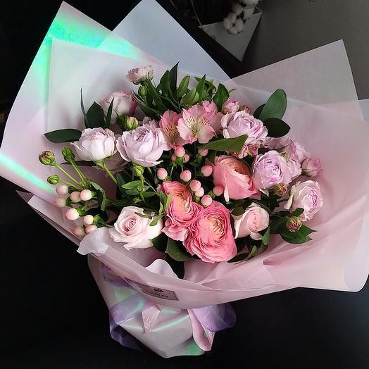 """Букет цветов """"Благородный вкус"""""""