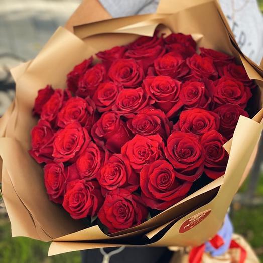 Монобукет Розы 35