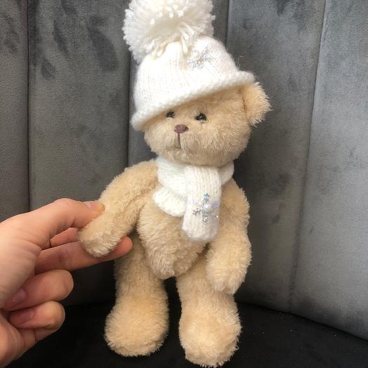 Teddy bear boy handmade 20 cm