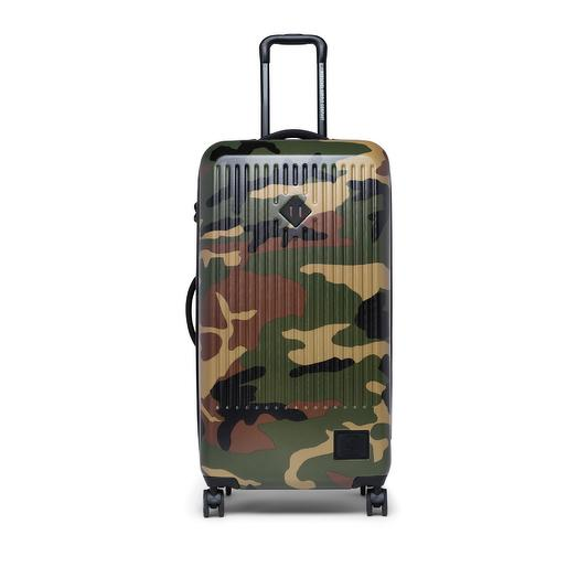 Чемодан на колесах Herschel Trade Large Woodland Camo/Vermillion Orange  Herschel 10678-03051-OS