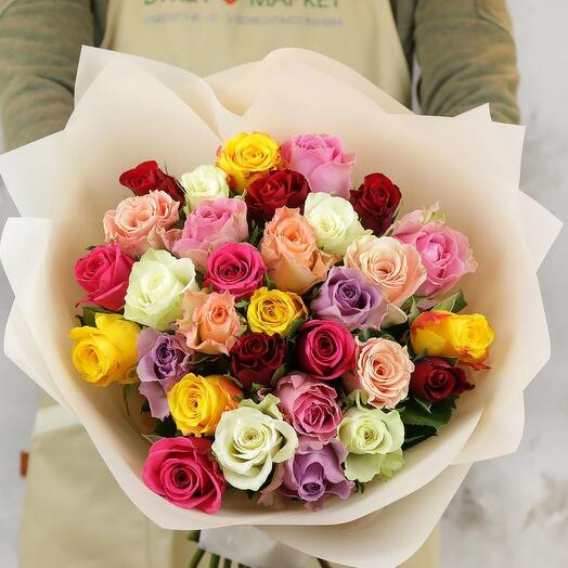 31 роза кения микс