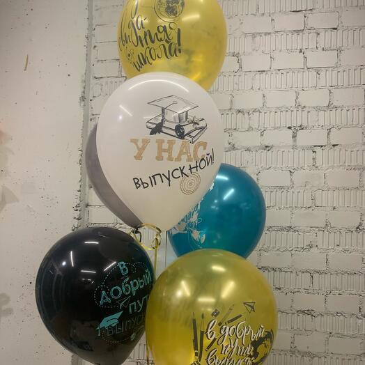 Воздушные шары выпускника