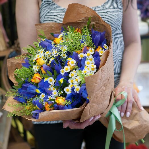 Букет цветов Лето-это маленькая жизнь
