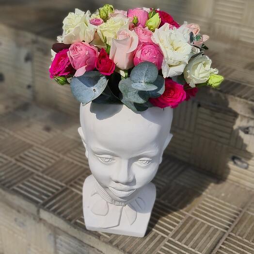 Тренд кашпо с цветами
