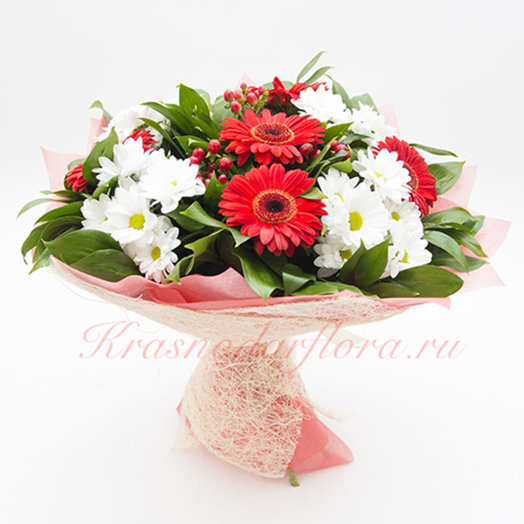 Букет Красное солнце: букеты цветов на заказ Flowwow
